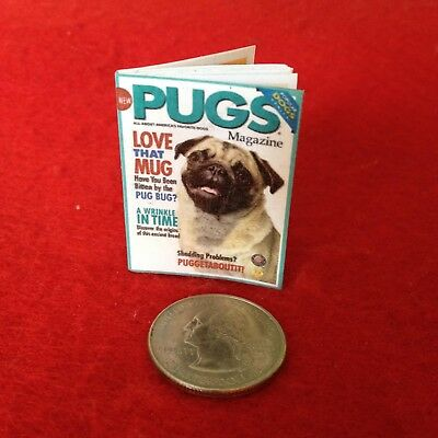 """1:6 scale Handmade mini for 11/""""-12/"""" dolls People magazine #9 w//real pages"""