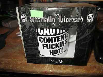 Contents F##King Hot Mug Collectable Rare Vintage  Licensed New In Box   Humor