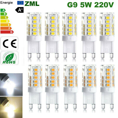 G9 led bulb 5W halogen bulbs 220V Capsule light SMD2835 Energy Saving Lamp 33led