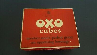 Vintage Large Traditional Oxo Cubes Tin – You'll feel all the better for OXO