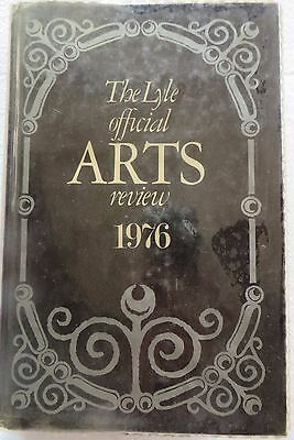 Vtg Book The LYLE official ARTS review 1976 by TONY CURTIS price guide Antique