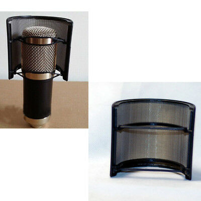 Filter Mask Shield Double Layer Recording Microphone Windscreen Pop for 45 Kit