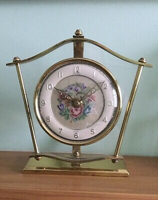 Vintage Bentima Mantle Clock (Not Working)