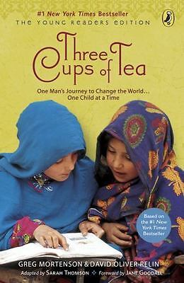 Three Cups of Tea (2009, Paperback) Lot Of 20 Books (Will Sell 1 Book for $3.00)