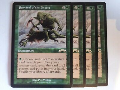 Mtg survival of the fittest  x 1 great condition