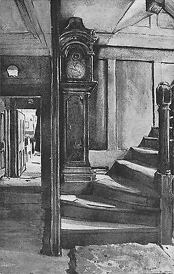 BR67498 grandfather clock  ye olde cheshire cheese postcard  uk  14x9cm