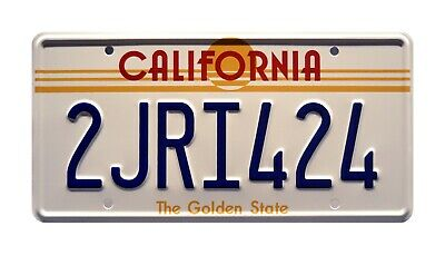 The Fast and the Furious   Vin Diesel's Charger   STAMPED Prop License Plate
