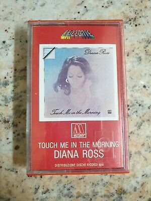 Diana Ross Touch Me In The Morning Mc K7  Sealed Rare Ork 78600
