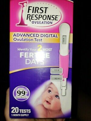 First Response Advanced Digital Ovulation Test (Retails For Over $60)