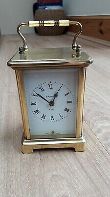Vintage French Bayard brass carriage clock