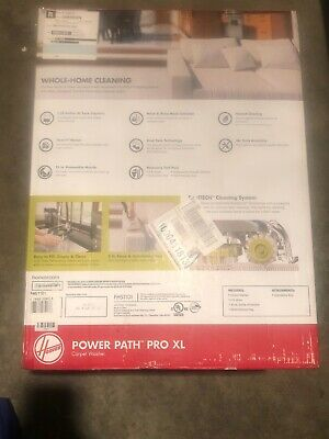 Hoover Upright Carpet Cleaner Power Path Pro XL Dual Tank Removable Nozzle New