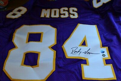 new product ff284 24ede RANDY MOSS SIGNED Autographed Jersey - $150.00 | PicClick
