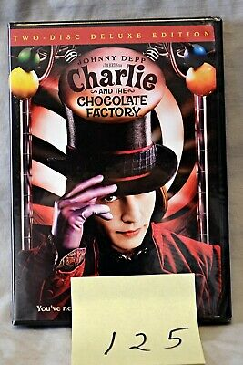 Charlie and the Chocolate Factory DVD 2-Disc Set Deluxe Edition  NEW SEALED