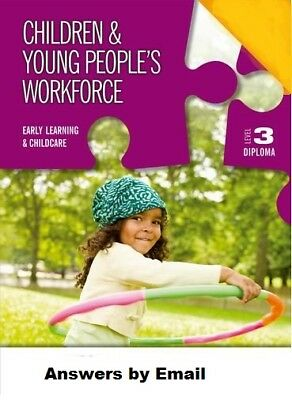 CYPW (Children and Young peoples Workforce)  Level 3 Diploma