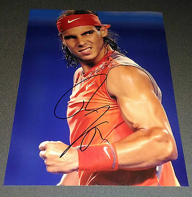 Autographe Rafael Nadal Roland Garros - Signed in person