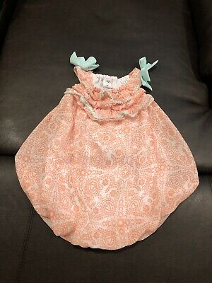 43afab328 NWT BABY ESSENTIALS Like One Piece Bubble Romper Size 9M Baby Girl ...