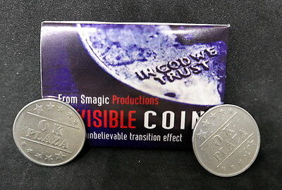 Invisible coin - an unbelievable transition effect, from smagic productions