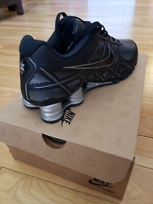 the best attitude abe47 d0d2f NIKE Shox Turbo XII 11 SL Mens Running Shoes Metallic Blk Silver Gray  472531-010