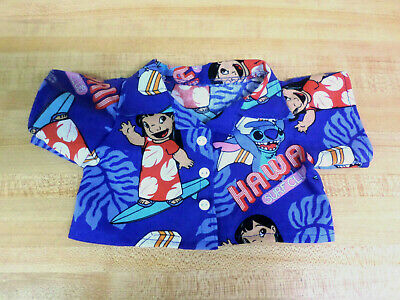 """ALOHA SHIRT W//PENGUIN DESIGN+BUTTONS PENGUINS for 16-17/"""" CPK Cabbage Patch Kids"""
