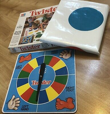 Twister 1978 MB Games Fun Family Party Game