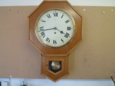 Lovely Vintage Drop Dial Wall Clock