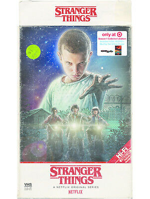 New Sealed Stranger Things Season 1 Collector's Edition 4K Ultra HD + Blu-ray +