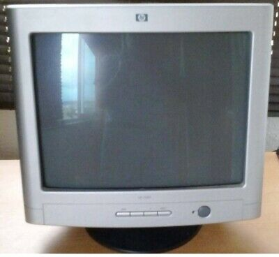 HP s7540 CRT 17 inch Retro Computer Gaming Monitor - Old New Stock