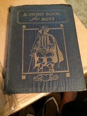 Antique vintage book-A Story Book for Boys