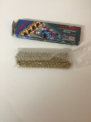Super 219 Pitch Gold Kart Racing Chain
