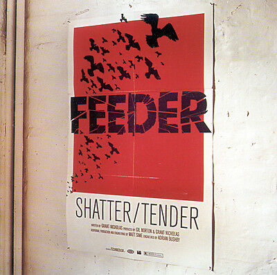 FEEDER - Shatter / Tender -  CD Single Grant Nicholas R.E.M. All Bright Electric