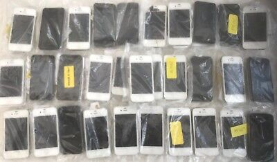 Bulk Lot Of Mixed Faulty Apple Iphones 4S Mobile Phones - Store Returns Box 4