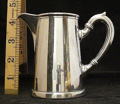 Antique German Silver Plated Jug