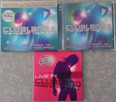 CLUBLAND 2 II - The Ride Of Your Life Special Limited Edition Ltd 3 CD set
