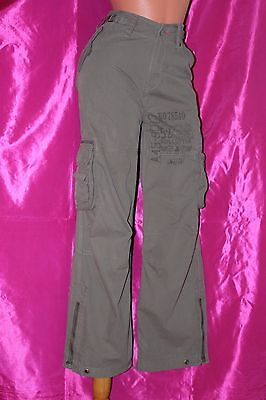 NEXT SIGNATURE 100% cotton girls cargo trousers age 15 years