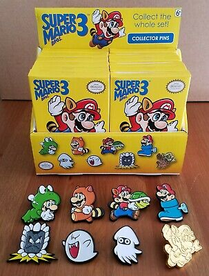 Nintendo Super Mario Collector Pins Series 3 - Complete Set