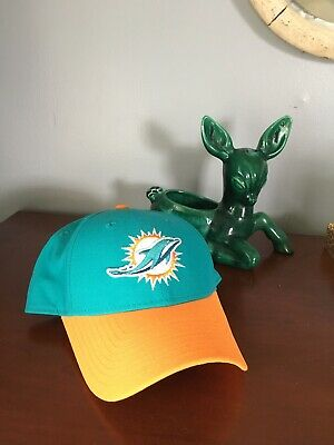 quality design 6be73 643fe 2018 Miami Dolphins New Era 9FIFTY NFL Sideline Home Snapback Hat Cap