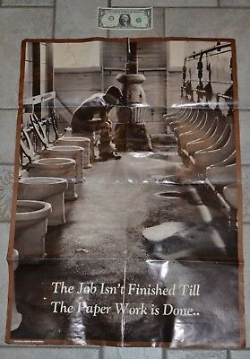 ART PRINT POSTER PHOTO JACK RUSSELL NEWSPAPER TOILET FUNNY LFMP1168