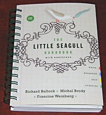 Like New! The Little Seagull Handbook With Exercises 9780393935813