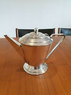 Art Deco Silver Plated Tea/Coffee Pot Royelle EPNS