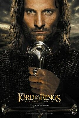 Lord Of The Rings movie poster  : 11 x 17 inches (v1) Return Of The King