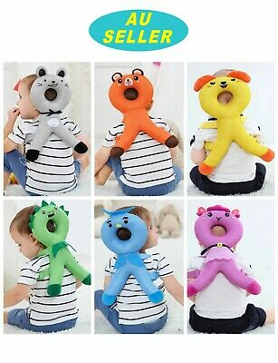 Baby Head Back Support Headrest Walk Learning Head Neck Protector Safety Helmet