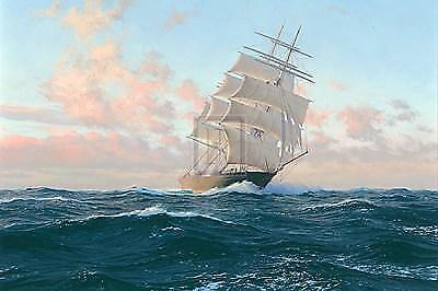 Steven Dews breezy Dawn-cimba Outward Bound Signed Canvas Limited Edition of 50