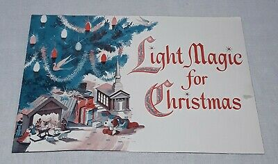 Vintage Westinghouse Christmas Lights And Bulbs Catalog