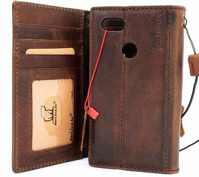 Genuine Leather Case for Google Pixel 3 Book Wallet Handmade Vintage Cover Luxur