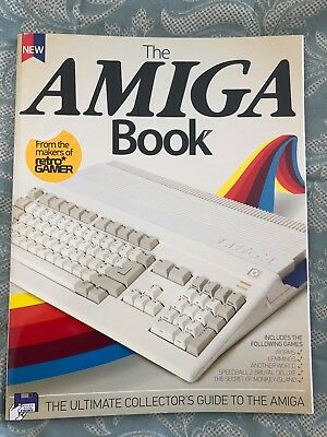 The AMIGA Book (Retro Gamer) - Out of print collectors guide (2014)