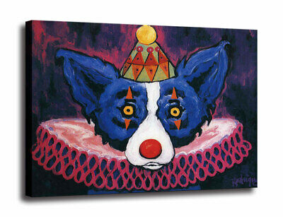 HD print canvas Blue Dog cartoon art painting home decor wall art picture 16X20