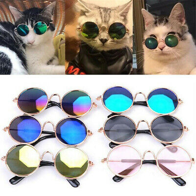 Cute Dog Cat Pet Glasses For Pet Little Dog Puppy Sunglasses Photos Props Fun TR
