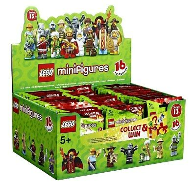 LEGO Minifigures 71008 Series 13 New Sealed Packs Retired