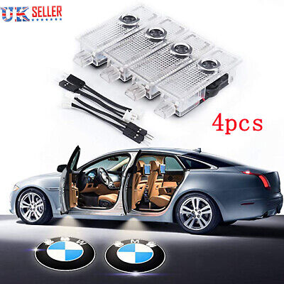 4P CREE LED Door For BMW Projector Courtesy Puddle Shadow Laser Light Lamp/Logo