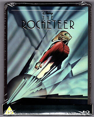 The Rocketeer Blu-Ray Steelbook Neu & Ovp Sealed Sold Out 1St Release Embossed